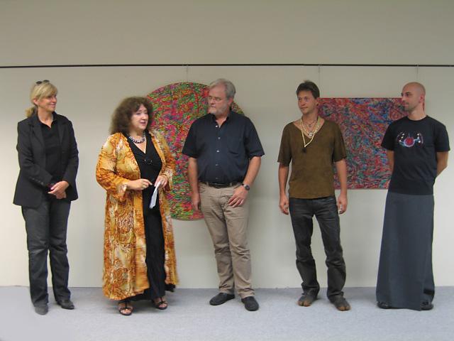 Künstler und Kuratoren